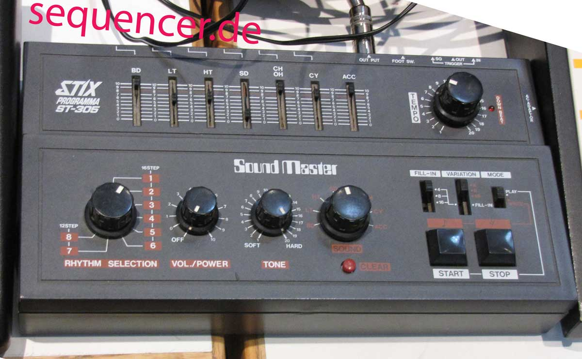Sound Master StixProgramma/ST305