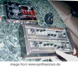 Pearl Syncussion, SY1 synthesizer