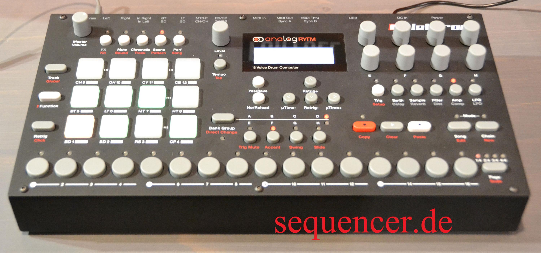 Elektron Analog Rytm synthesizer