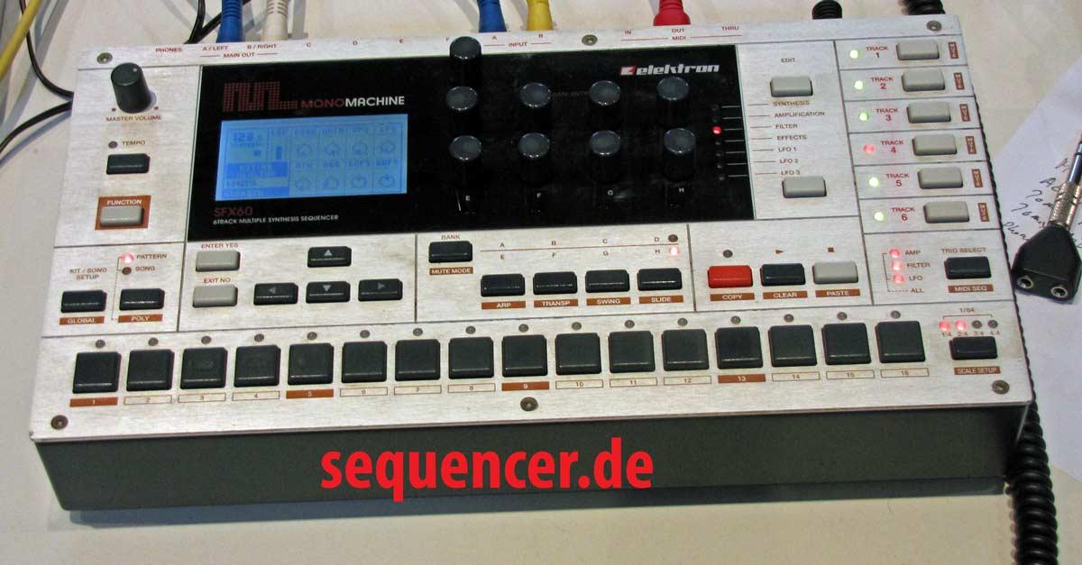 Elektron MonomachineMkII/SFX60MarkII