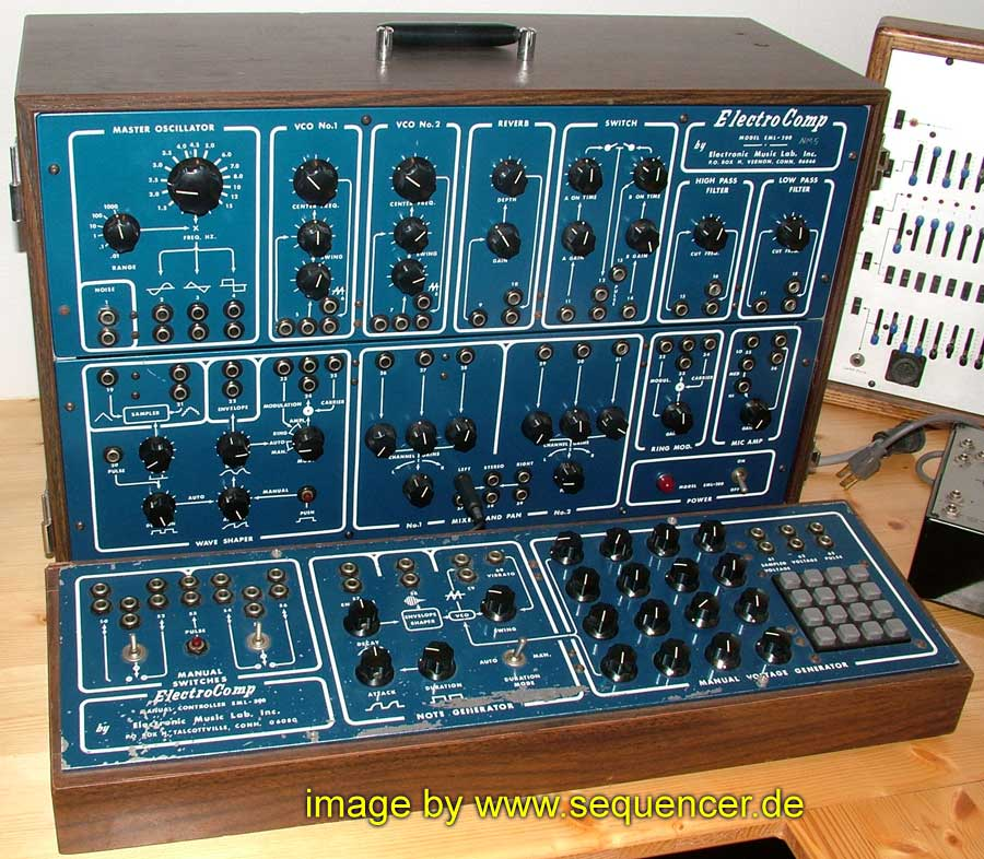 EML Electro Comp 200, Electro Comp 300 synthesizer
