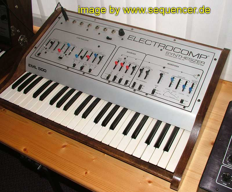 EML Electro Comp 500 synthesizer