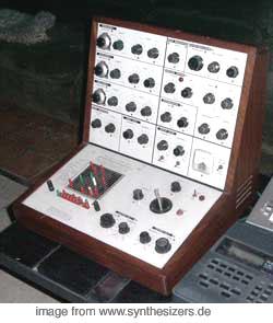 EMS VCS3 The Putney synthesizer