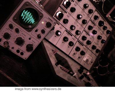 EMS VCS-3 EMS VCS-3 synthesizer