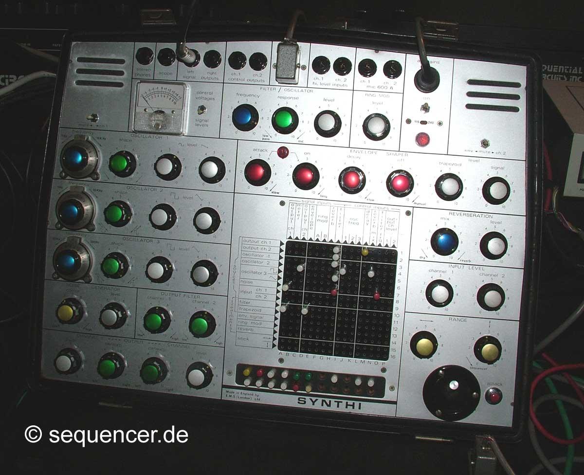 EMS Synthi A EMS Synthi A synthesizer
