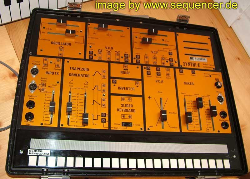 EMS Synthi E synthesizer