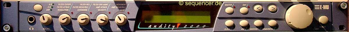 Emu Audity 2000 synthesizer