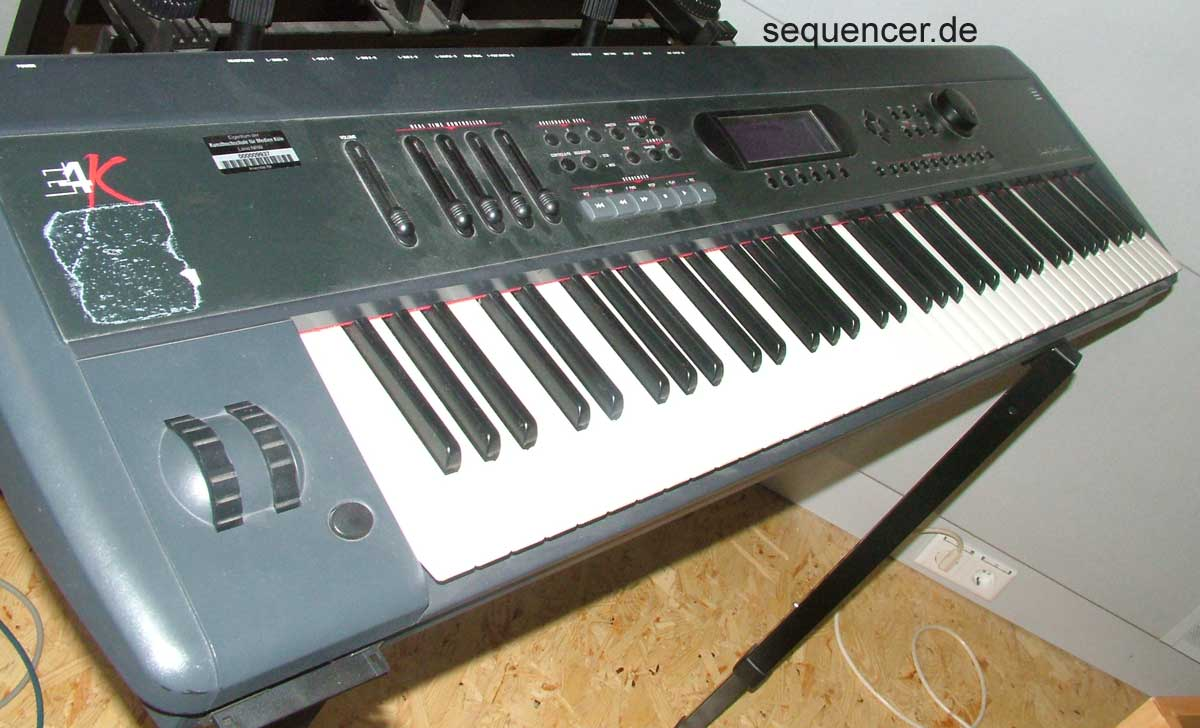 Emu E4K, EIVk , E4Keyboard synthesizer