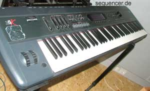 Emu E4K, EIVk, E4Keyboard synthesizer
