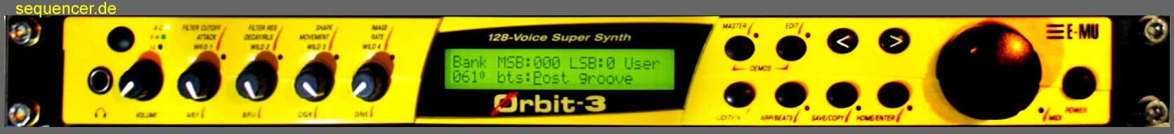 Emu Orbit 3 synthesizer