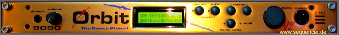 Emu Orbit 3, Orbit 2, 9090 synthesizer