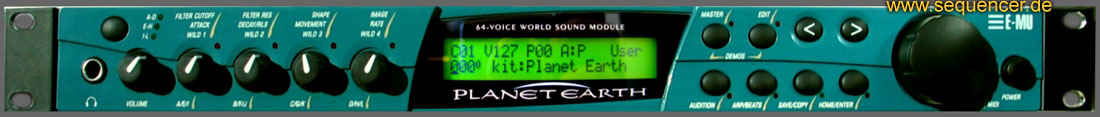 Emu Planet Earth , Carnaval synthesizer