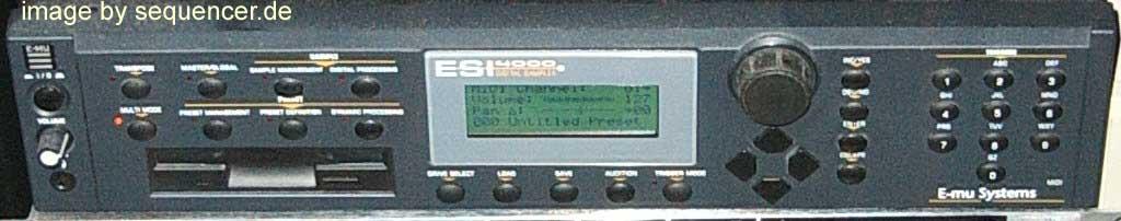 Emu ESI4000, ESI2000 synthesizer
