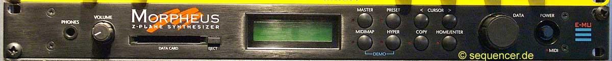 Emu Morpheus synthesizer