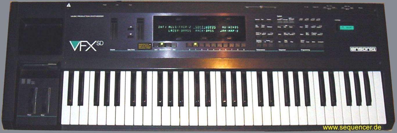 Ensoniq VFX, VFXsd , VFXsd 2 synthesizer
