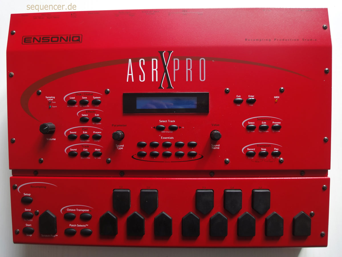 Ensoniq AsrX synthesizer
