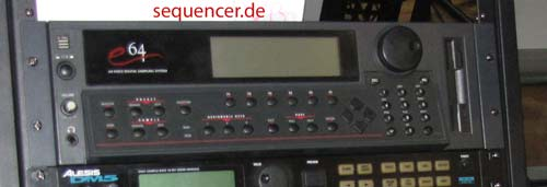 Emu e6400, e64, e5000 synthesizer