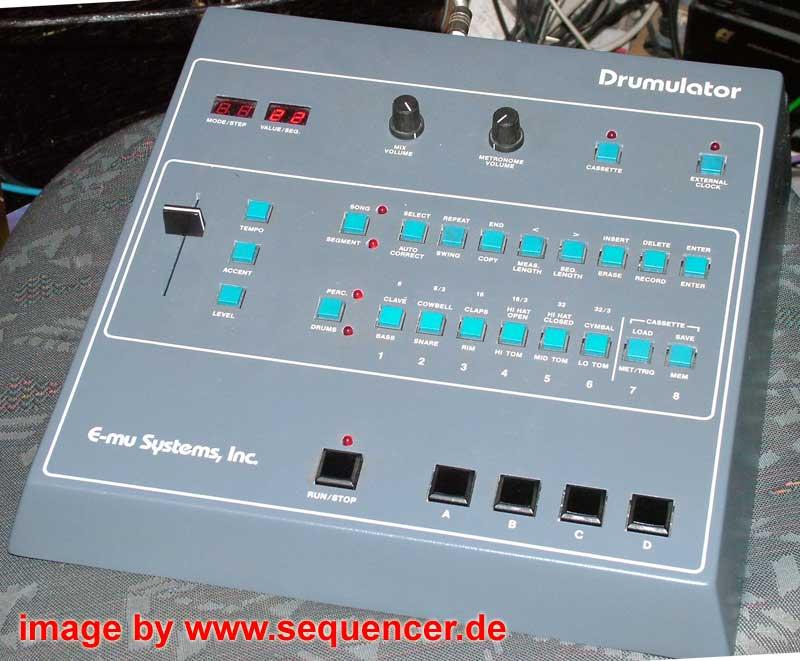Emu Drumulator synthesizer
