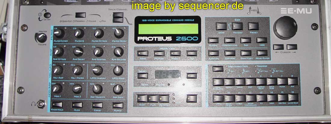 Emu Proteus 2500 synthesizer
