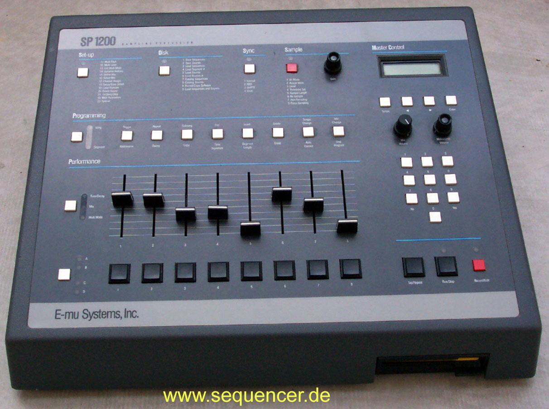Emu SP1200 @ Sequencer DB