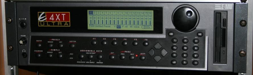 Emu Emulator4XtUltra, E4XtUltra synthesizer