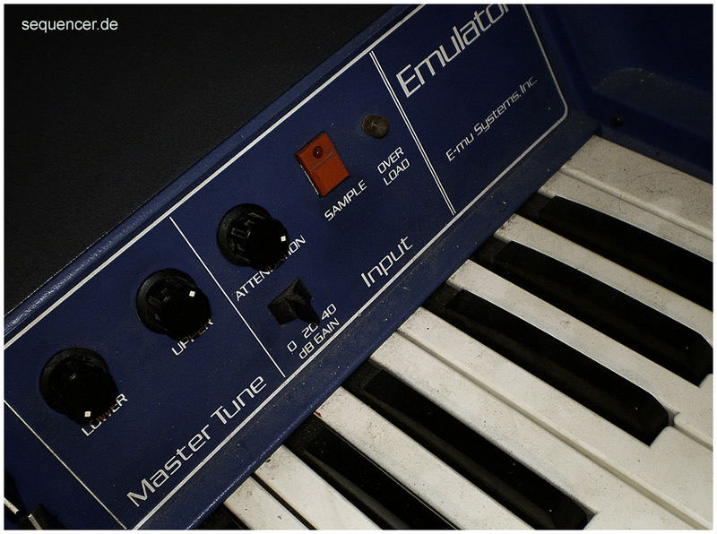 Emu Emulator1, EmulatorI synthesizer
