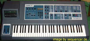 Emu Emulator2, EmulatorII synthesizer