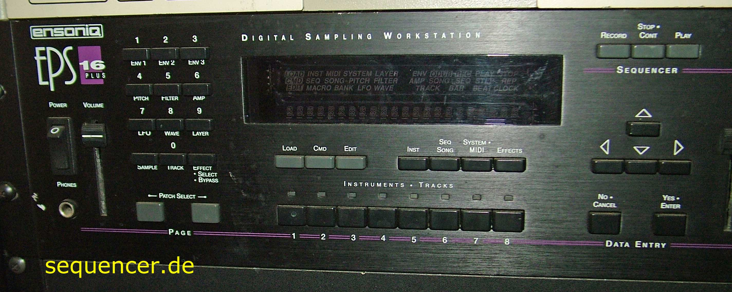 Ensoniq EPS16+ Rack Ensoniq EPS16+ Rack synthesizer