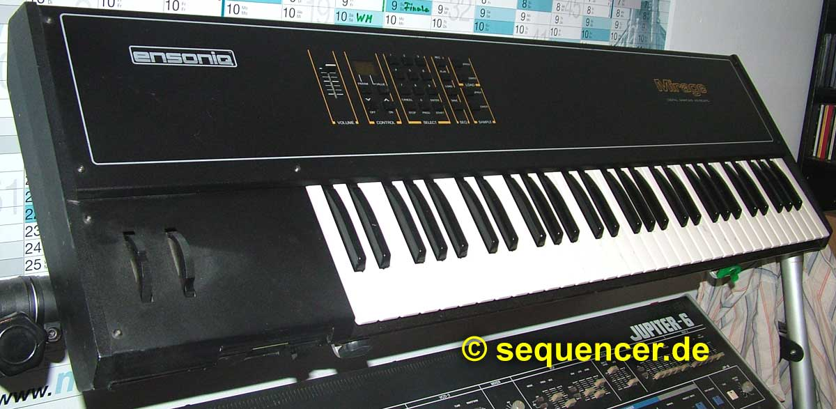 Ensoniq Mirage DSK1, DSK8 synthesizer