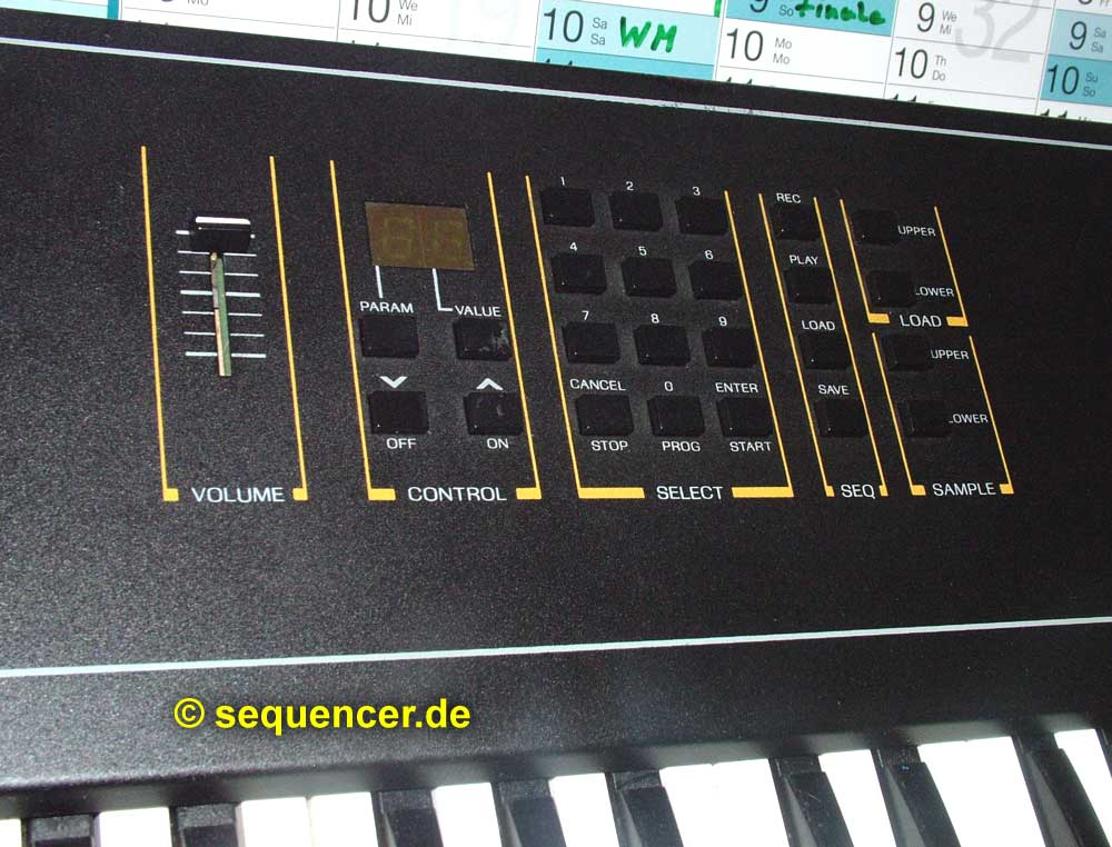 Ensoniq Mirage Ensoniq Mirage synthesizer