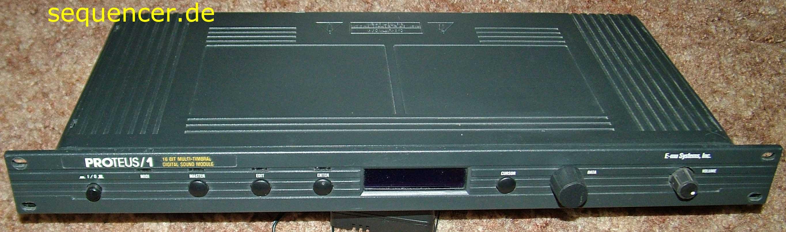 Emu Proteus1PopRock synthesizer
