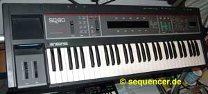 Ensoniq SQ-80 Ensoniq SQ-80 synthesizer