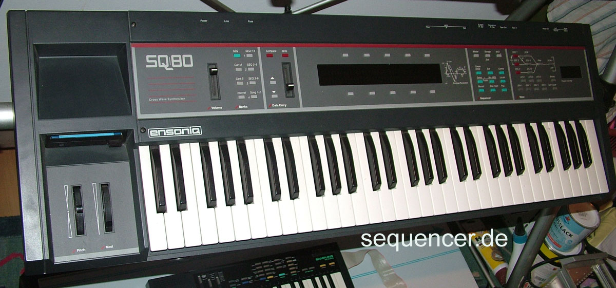 Ensoniq SQ80 synthesizer