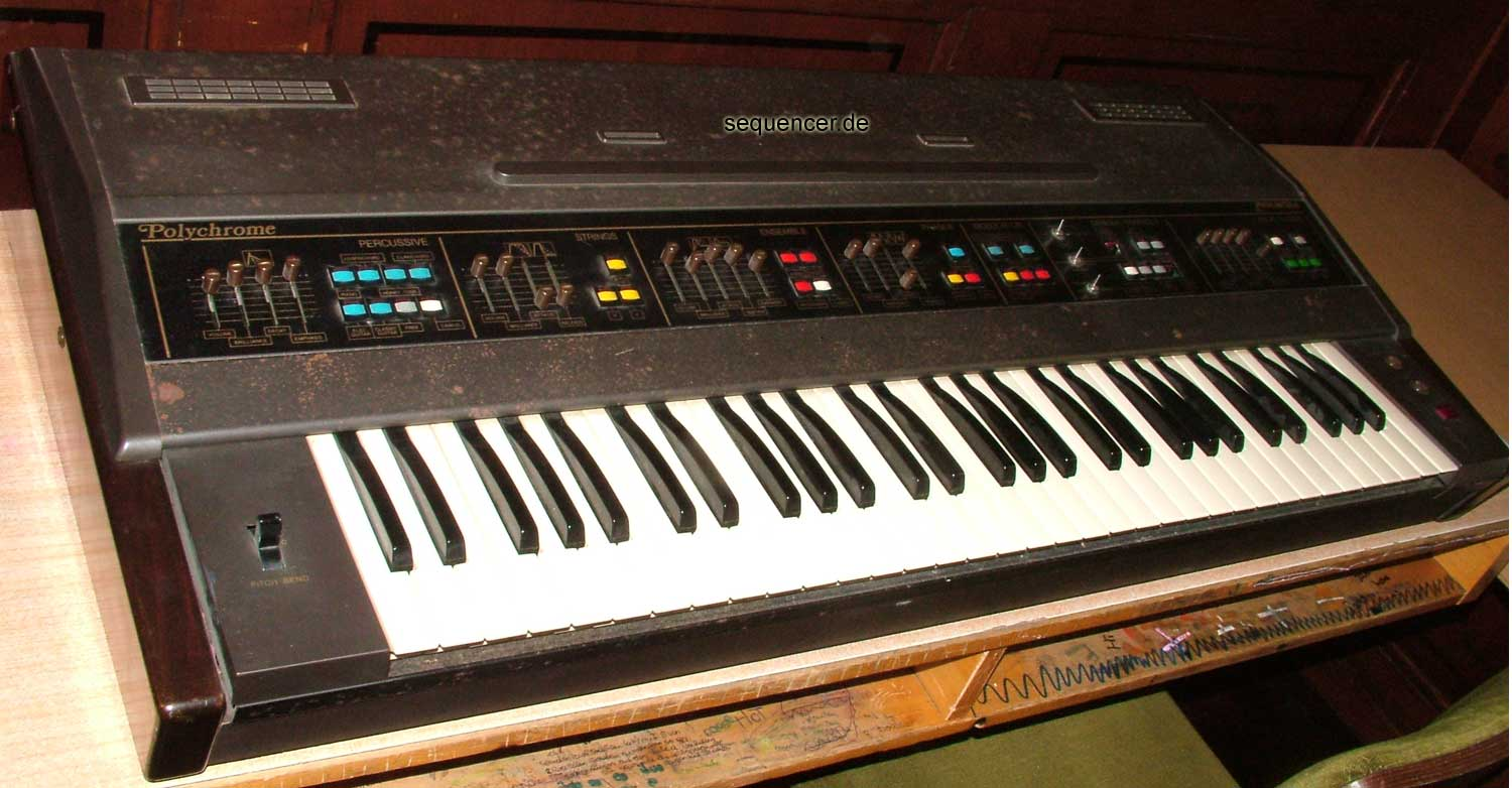 Farfisa Polychrome synthesizer