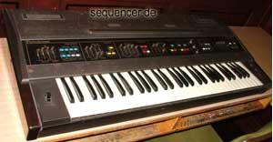 Farfisa Polychrome synthesizer