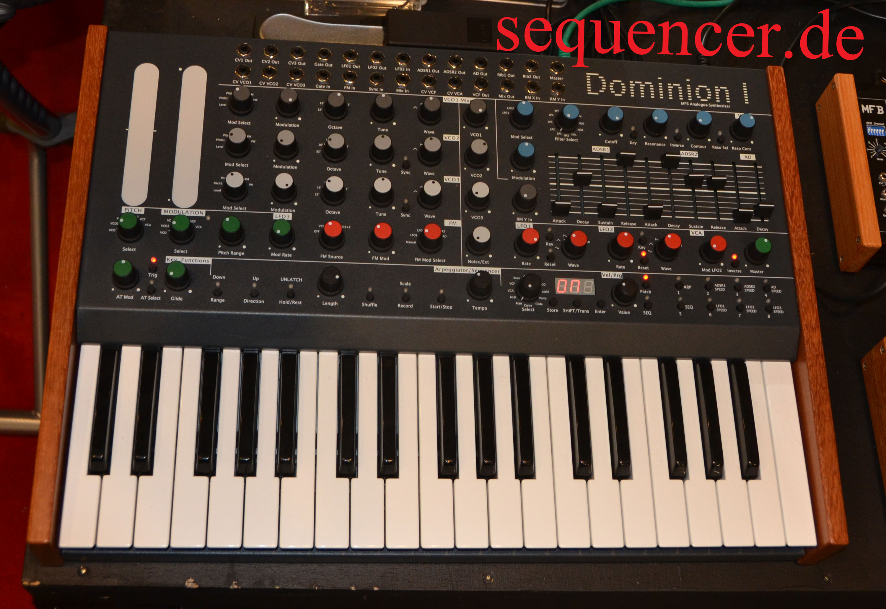 MFB Dominion 1 synthesizer