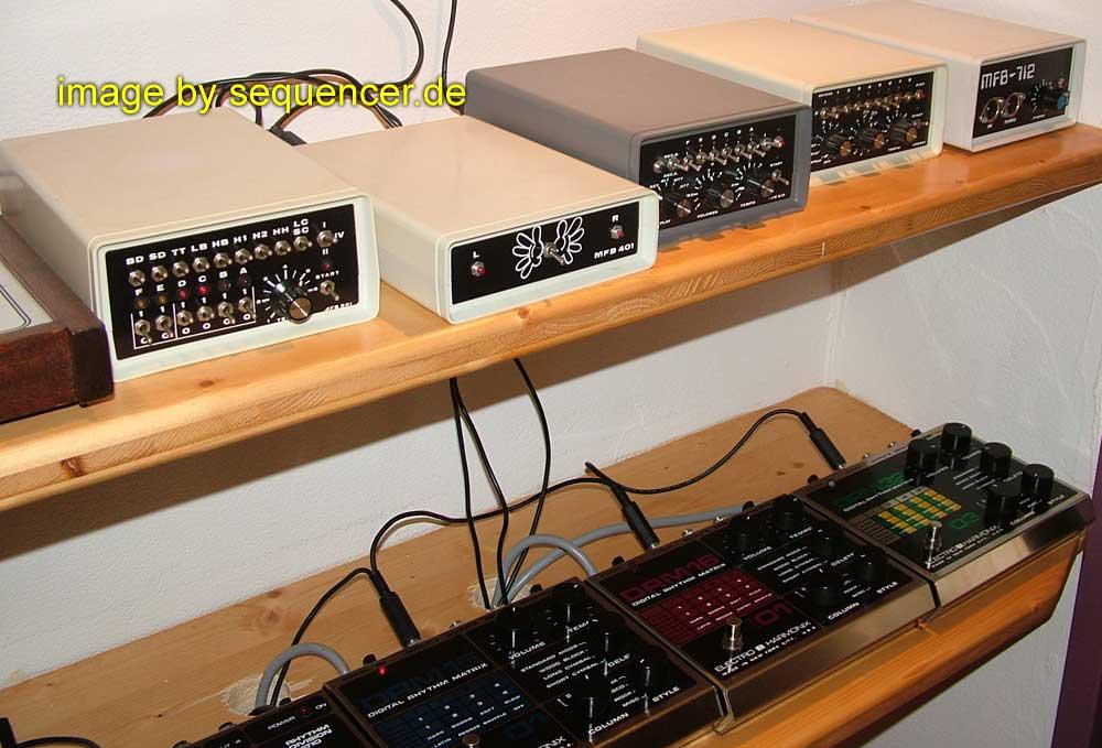 MFB MFB1001, MFB2001, MFB1002, MFB2002 synthesizer