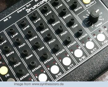 MFB 502 Drummachine 502 synthesizer