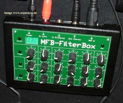 MFB FilterBox synthesizer