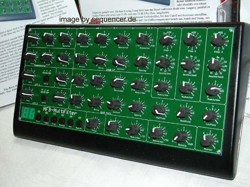 MFB Multifilter Box synthesizer