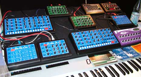 mfb synthesizer line