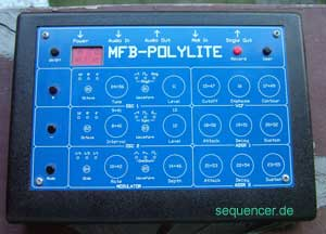 MFB PolyLite synthesizer