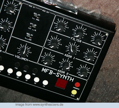 MFB Synth 1 Synth 1 synthesizer