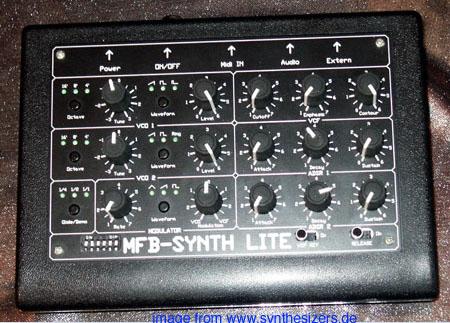 MFB SynthLite, SynthLiteI synthesizer