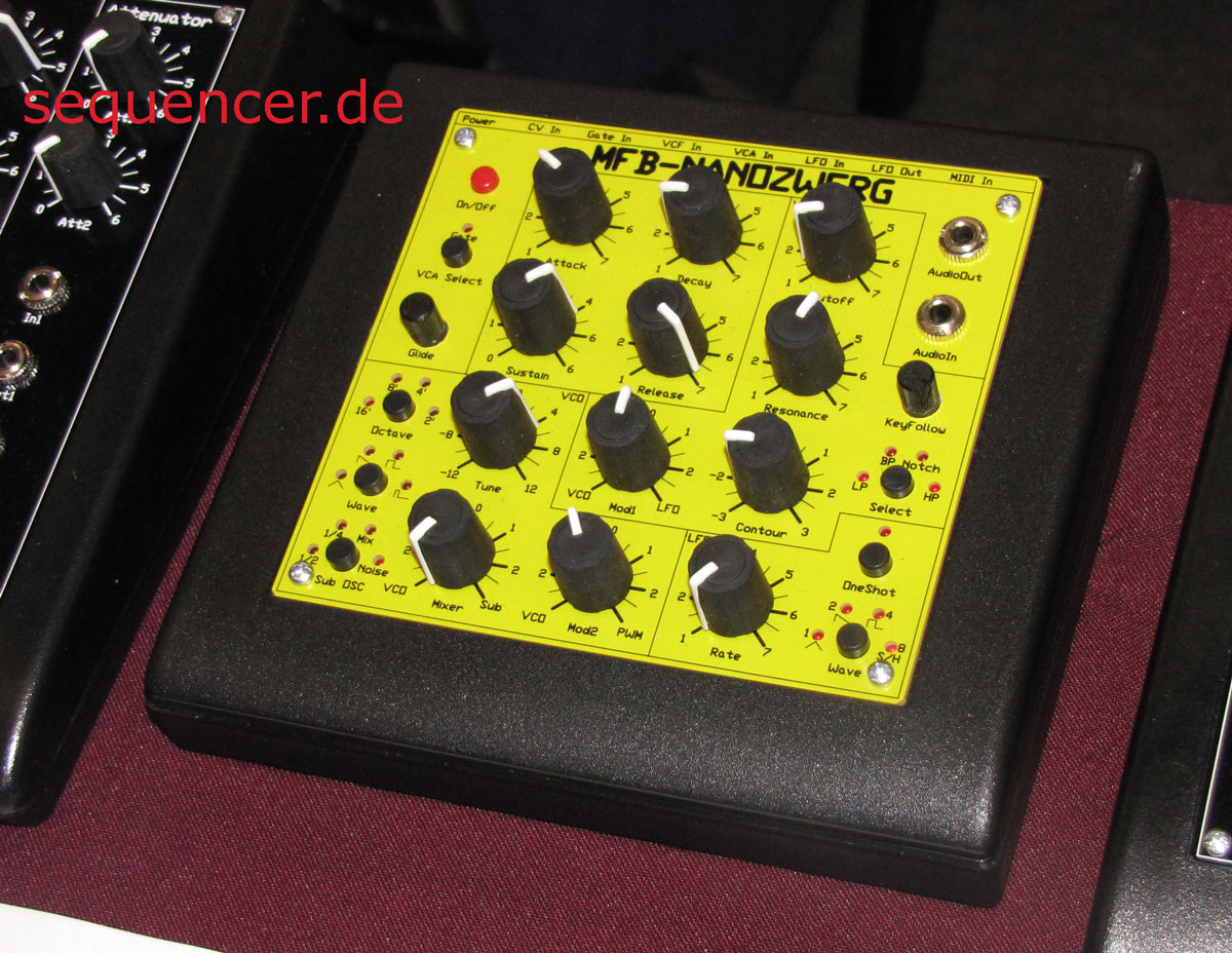MFB Nanozwerg synthesizer