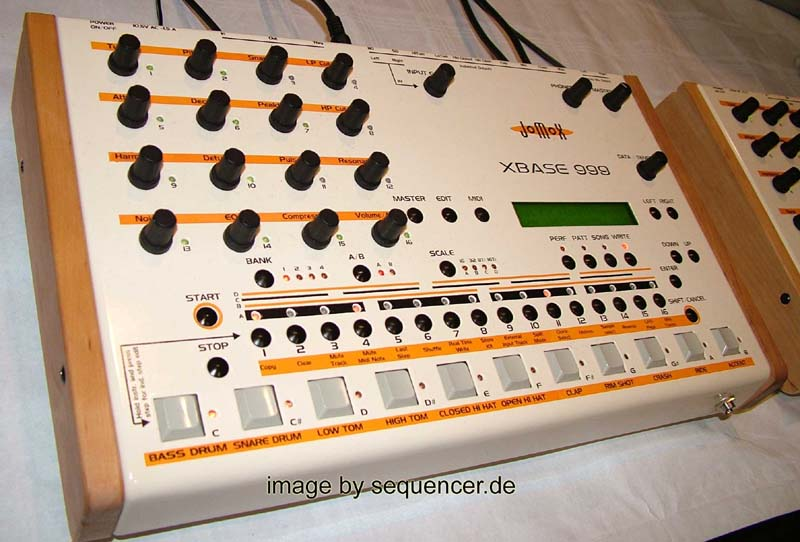 JoMoX XBase999 synthesizer