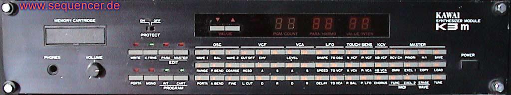 Kawai K3, K3m synthesizer