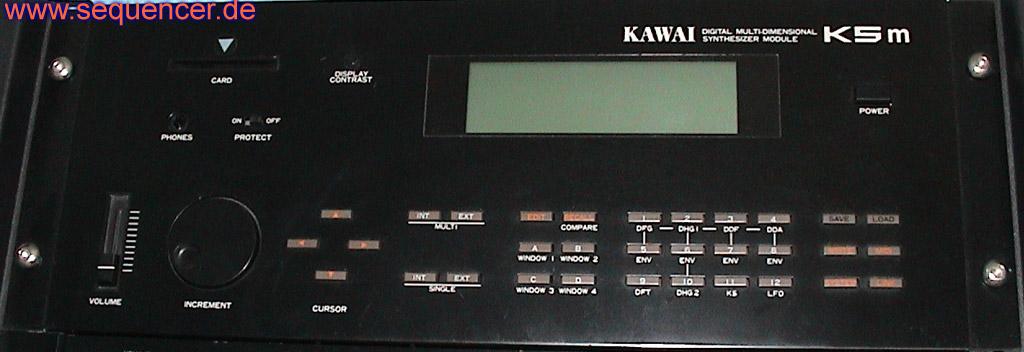 Kawai K5, K5m synthesizer