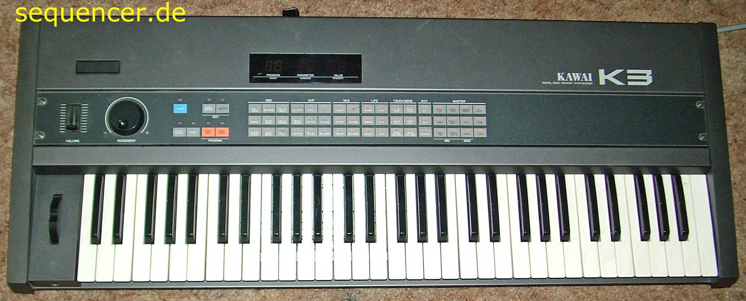 Kawai K3 Kawai K3 synthesizer
