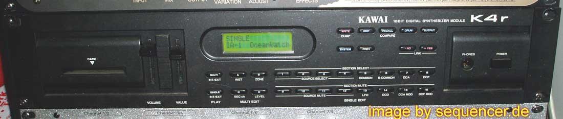 Kawai K4, K4r synthesizer